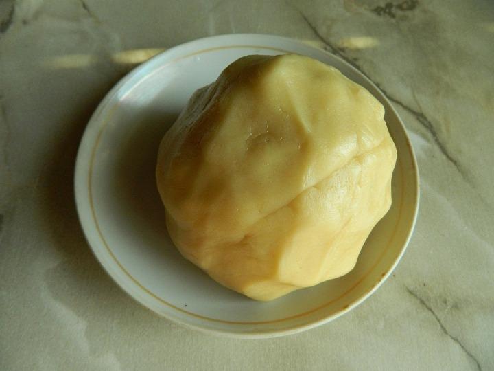 Имбирный чизкейк с дыней