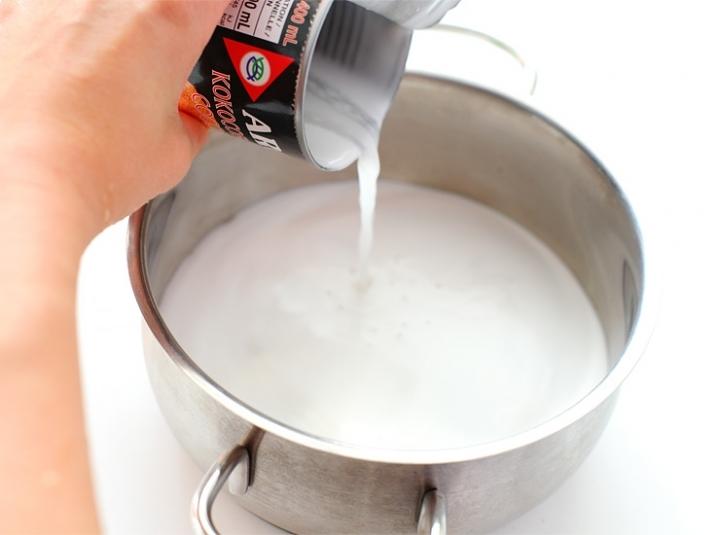Овсяная каша на кокосовом молоке
