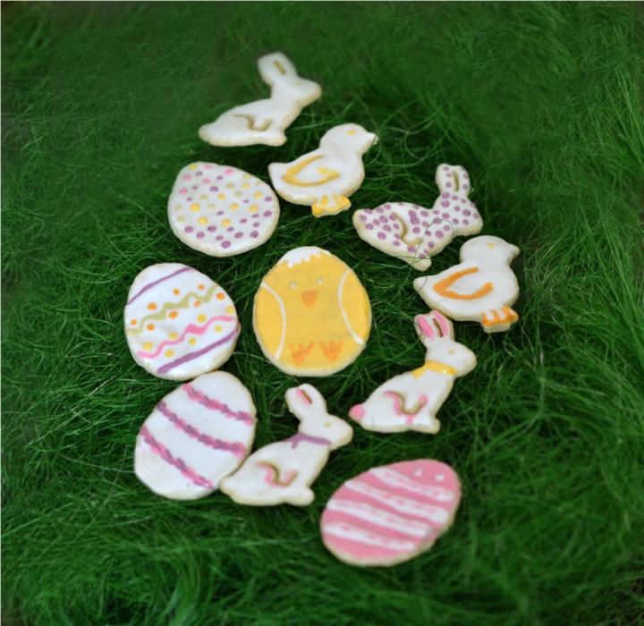 Пасхальное миндальное печенье