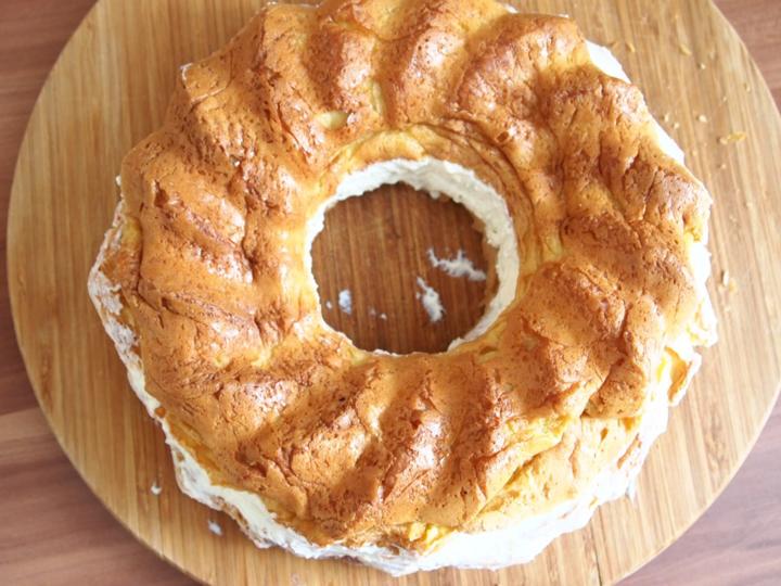 Заварной кекс с начинкой