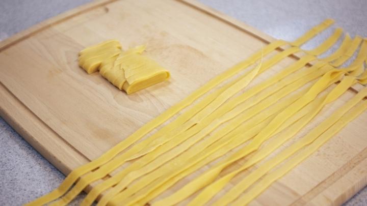 Сделать итальянскую пасту своими руками
