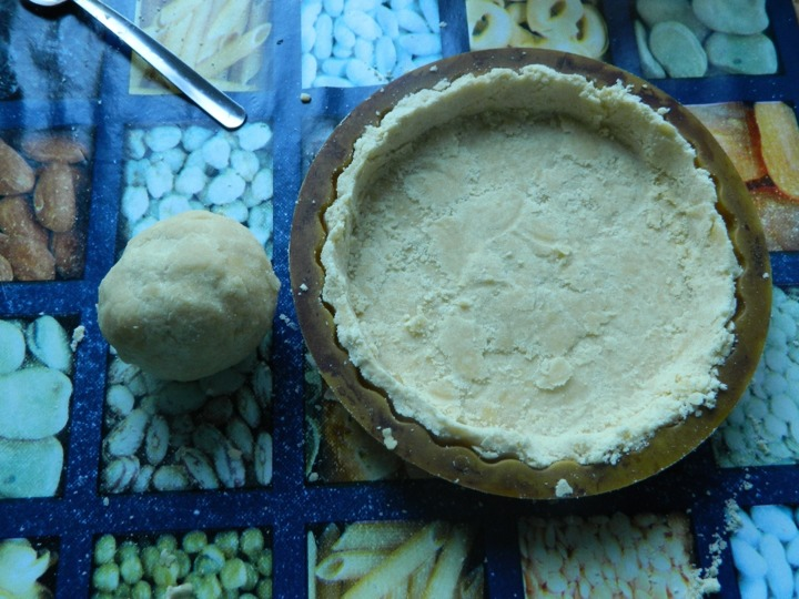 Клубничный пирог с заливкой