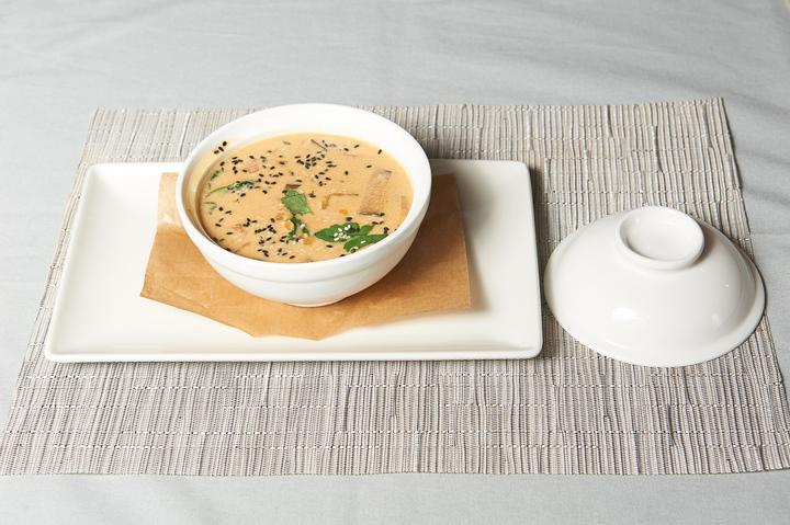Тайский суп с красной чечевицей
