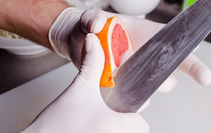 Салат с маринованным тунцом