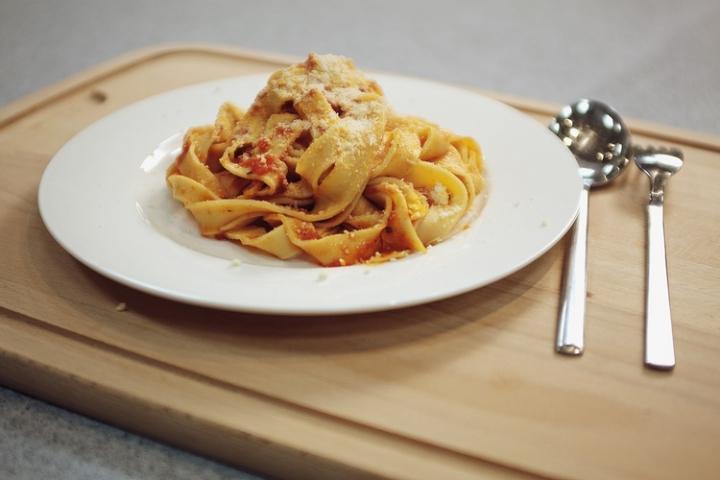 Итальянская паста своими руками