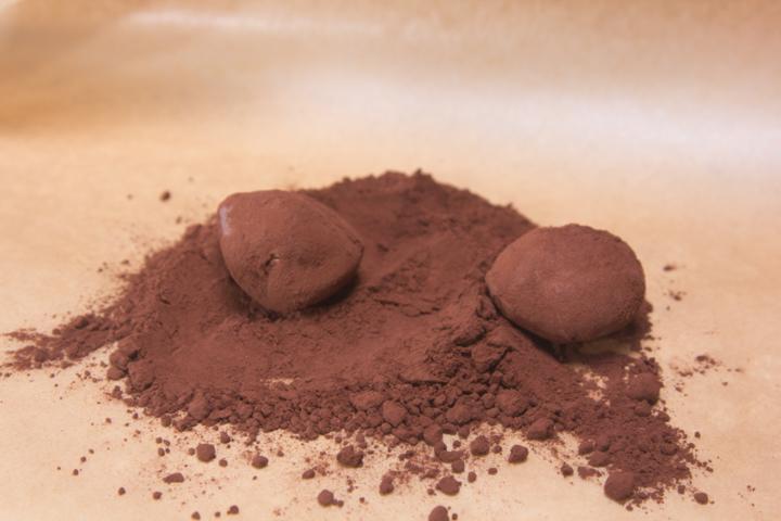Клубника и шоколад с мороженым