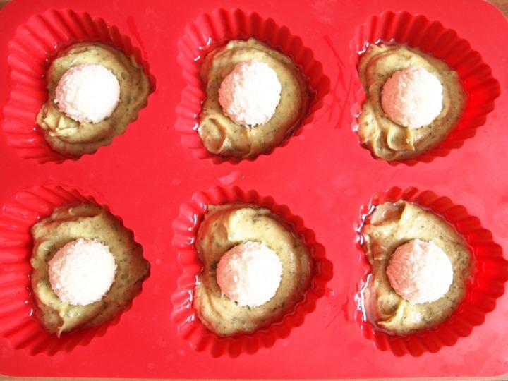 Мятные кексы