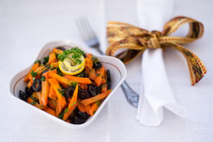 Салат с морковью по-мароккански
