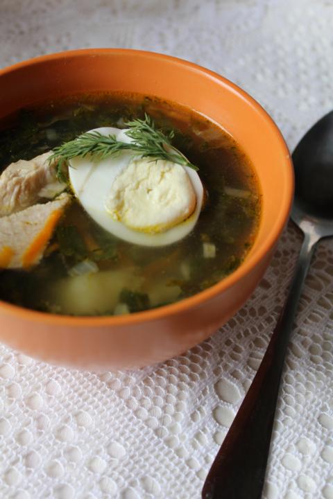 Как варить суп из щавеля и крапивы