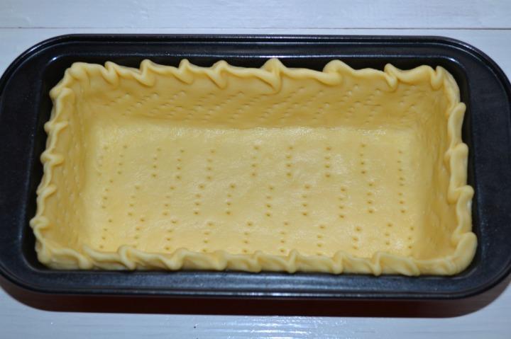 Киш с черри и греческим сыром