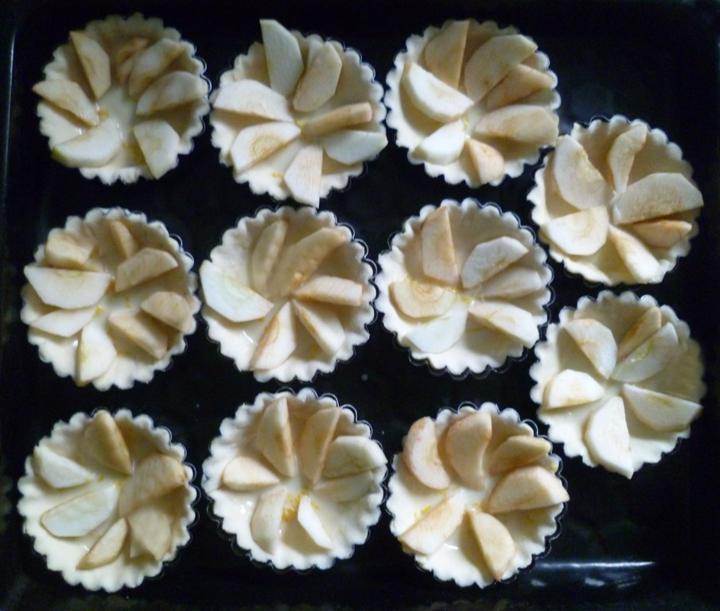 Тарталетки яблочные