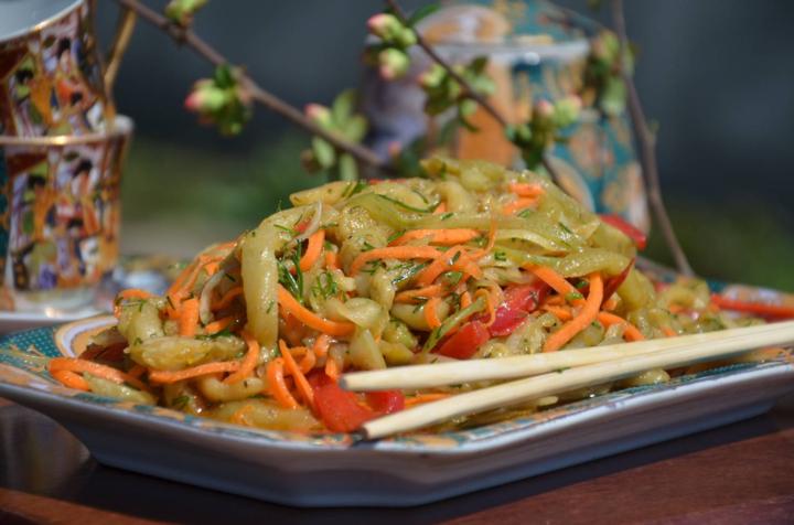 Рецепт баклажанов по восточному
