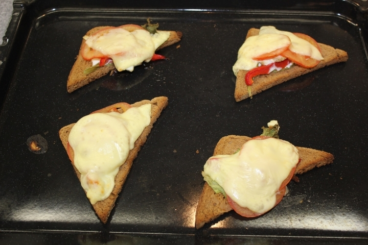 бутерброды в духовке рецепты с фото пошагово