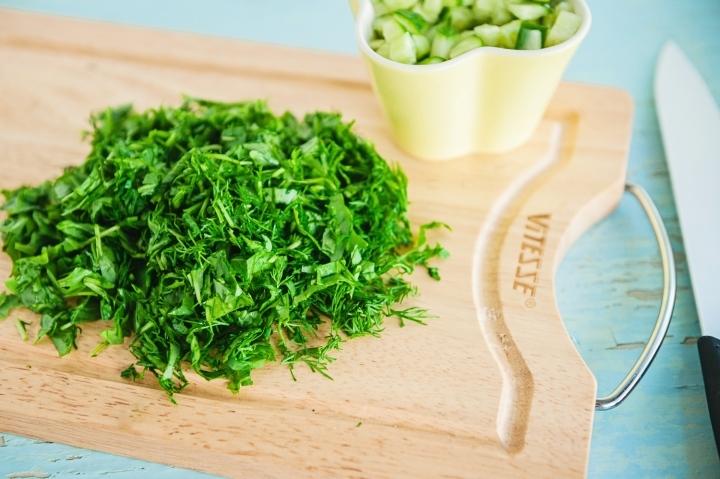 Салат с запеченной тыквой