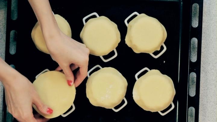 Ягодные корзиночки с заварным кремом