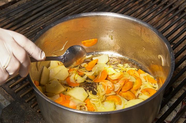 Гороховый суп-крем
