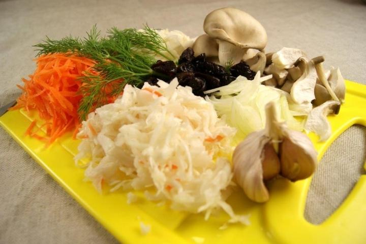 Бигос с грибами