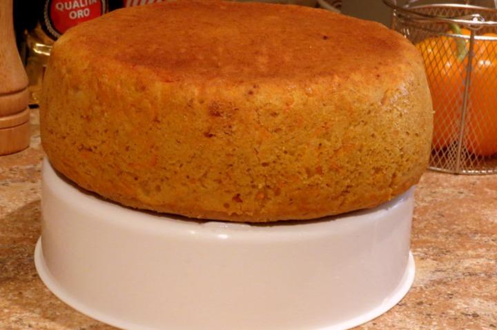 Тыквенно-морковный торт