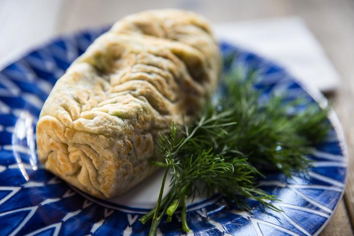Пишлок-гумма с сыром и зеленью