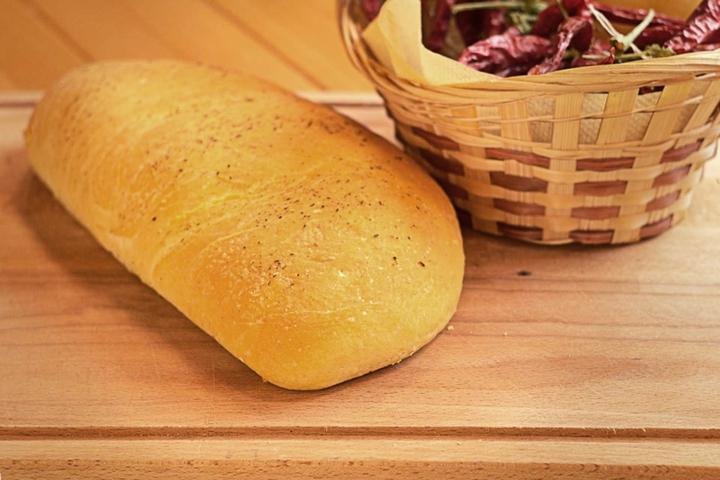 Хлеб с сыром и шпинатом