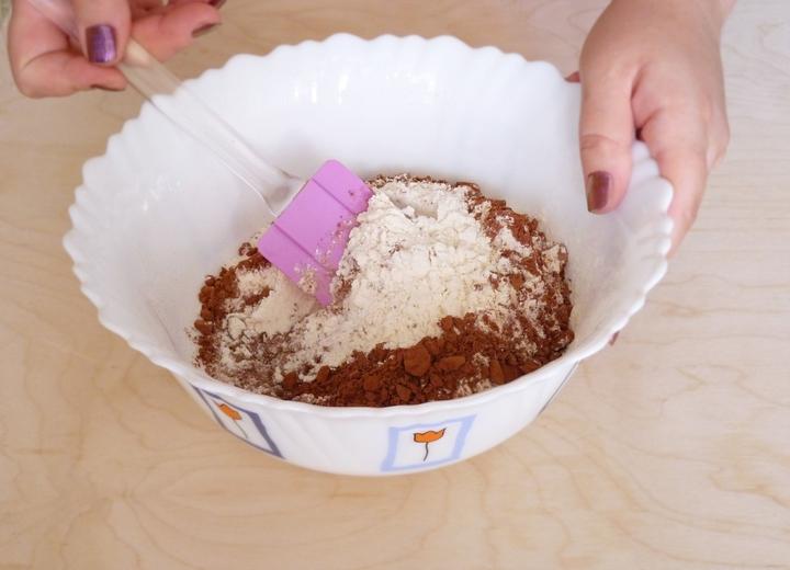Шоколадно-кабачковый пирог