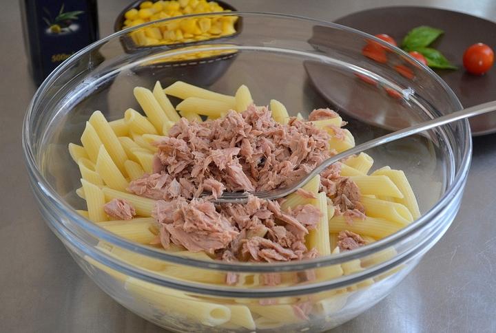 макароны с тунцом рецепт с фото