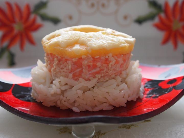 Запеченная форель с рисом